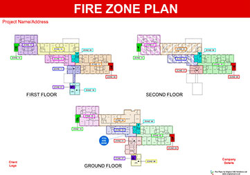 Fire plans original cad solutions for Home security plans