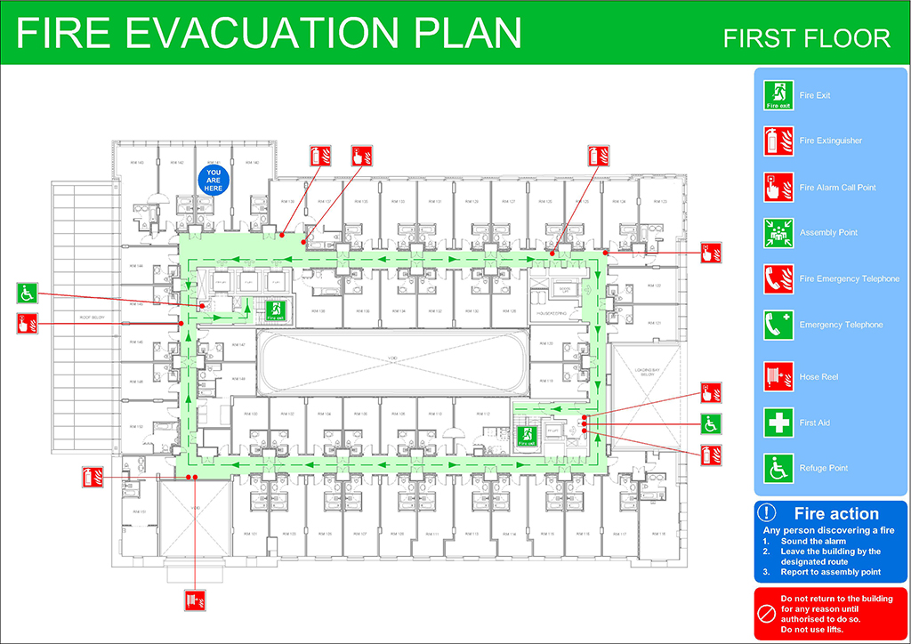 Evacuation Plan Templates Fire Emergency Evacuation Plan