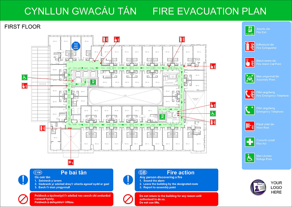 Fire Evacuation Plans - Original Cad Solutions