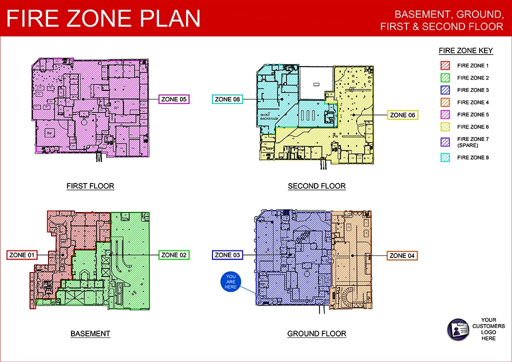 Fire security services original cad solutions for Fire plans