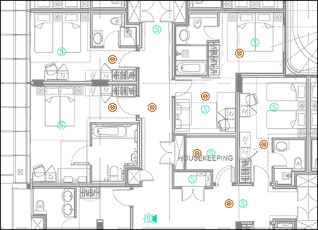 Professional Fire Alarm Layouts Original Cad Solutions